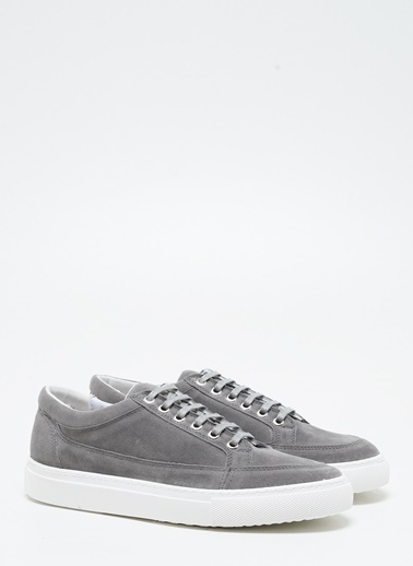 F By Fabrika Erkek Vizon Sneakers PASCAL Gri